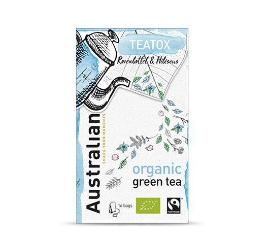 Green tea Teatox 16 x 1,6 gram fairtrade organic